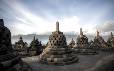Borobudur temple the biggest Budhist Temple in the World